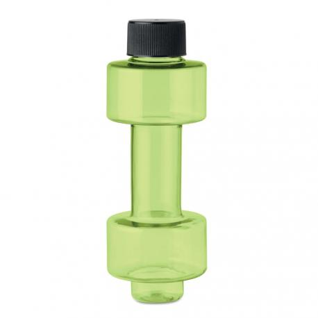 Botella pet con forma de pesas 500ml Peso bottle