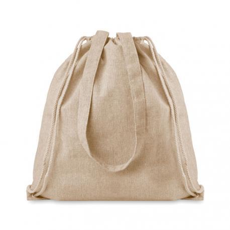 Bolsa compra algodón reciclado Moira duo