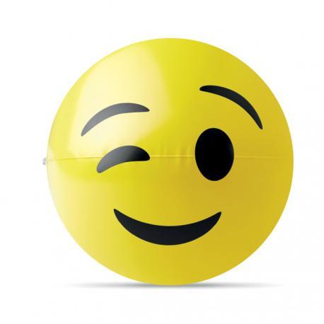 Pelota de playa inflable emoji Winky