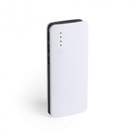 Power bank 10000mAh con luz led Kaprin