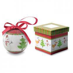 Bola navideña en caja Sweety