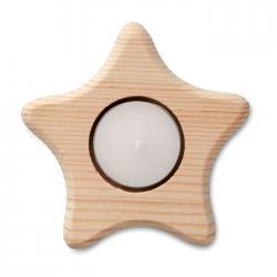Portavelas en forma de estrella Teastar