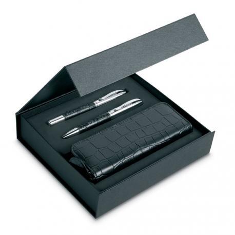 Set bolígrafos y funda Annecy
