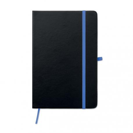 Cuaderno a5 con tapa de pu Laser note