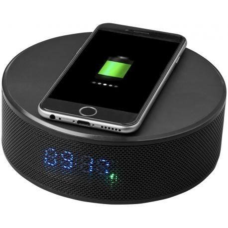 Altavoz despertador bluetooth® con base de carga inalámbrica Circle