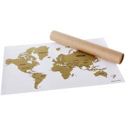 Mapa para rascar Wanderlust