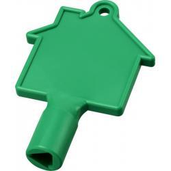 Llave para contador con forma de casa maximilian