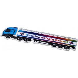 Regla de plástico con forma de camión de 15 cm Loki