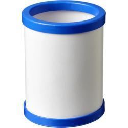Lapicero redondo con borde de plástico deva
