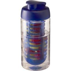 Bidón deportivo e infusor con tapa flip de 500 ml h2o bop®