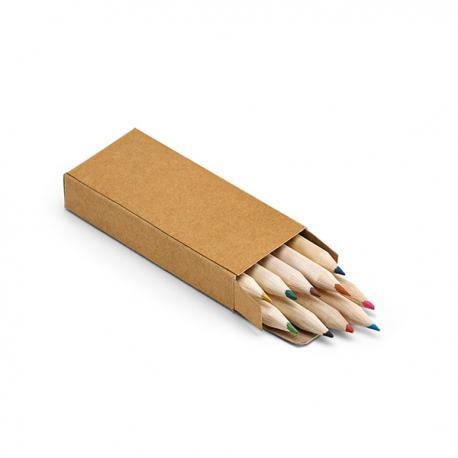 Caja con 10 lápices de color Crafti