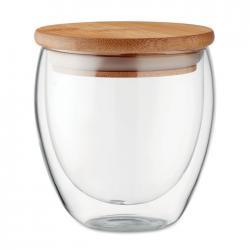 Vaso cristal doble capa 250 ml Tirana small