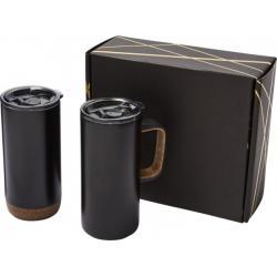 Set de regalo con taza y vaso de cobre al vacío Valhalla