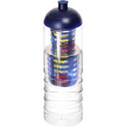 Bidón deportivo e infusor con tapa dome de 750 ml H2O treble