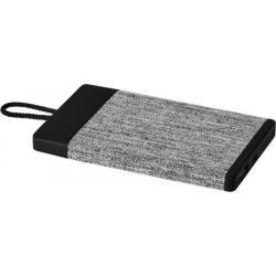 Batería externa de tela de 4000mah Weave