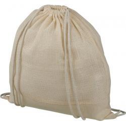 Mochila de cuerdas de algodón de malla Maine