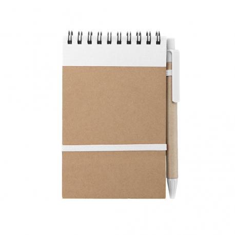 Libreta con bolígrafo ecológico Ecocard