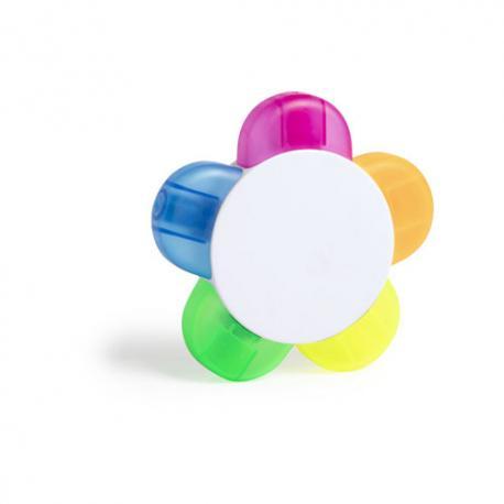 Pack de subrayadores fluorescentes Hindal