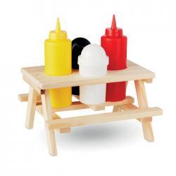 Mini mesa madera Picsaus