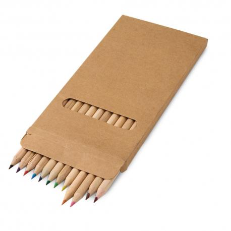 Caja con 12 lápices de color Croco