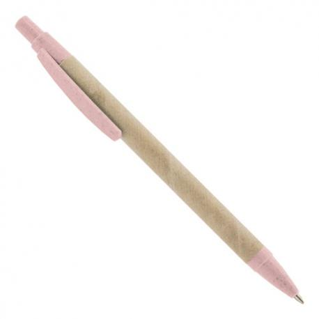 Boligrafo fibra de trigo ecobio