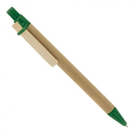 Boligrafo carton reclicado pino