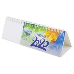 Calendario horizontal julen