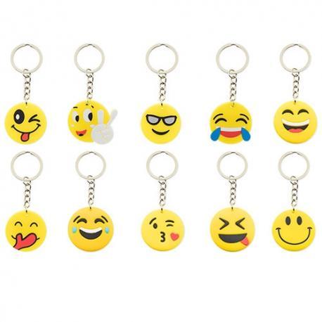 Llavero emoji (pack 10)