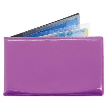 Tarjetero horizontal 6 tarjetas sergi