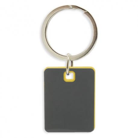 Llavero bicolor aluminio clipa