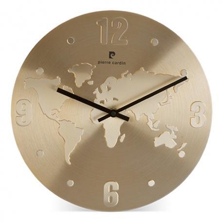 Reloj mundi mapa pierre cardin