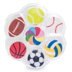 Set de gomas sport ball