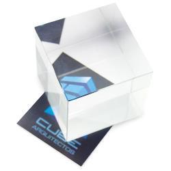 Cristal cuadrado efecto vistalateral