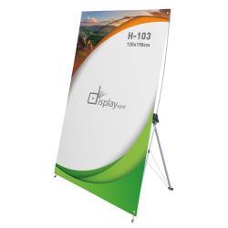 Banner aluminio 120x198 cm