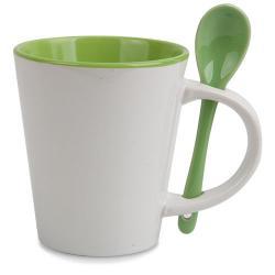 Mug ceramica cuchara