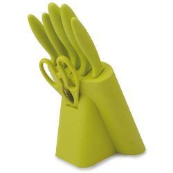 Set cuchillos 7 pcs pistacho