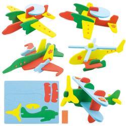 Puzzle eva plane ( 5 unidades)