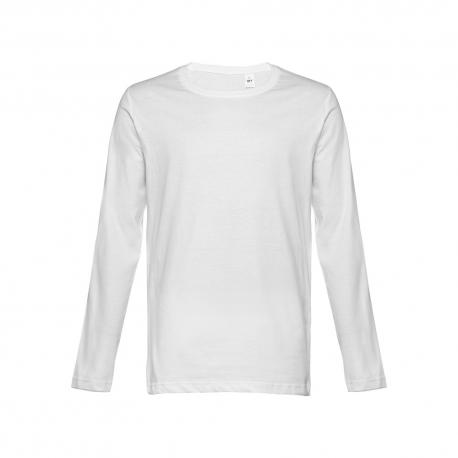 Camiseta manga larga para hombre. Blanco Bucharest