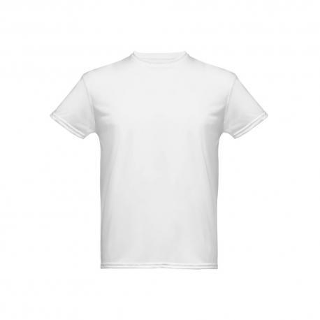 Camiseta técnica para hombre. Blanco Nicosia