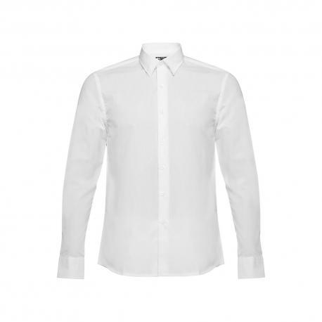 Camisa popelina para hombre. Blanco Batalha