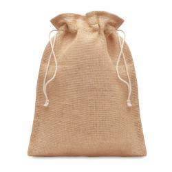 Bolsa regalo pequeña de yute Jute small