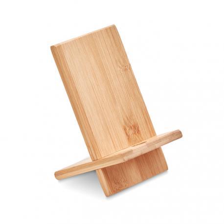 Soporte para telefono de bambú Whippy