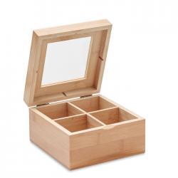 Caja de té bambú Campo tea