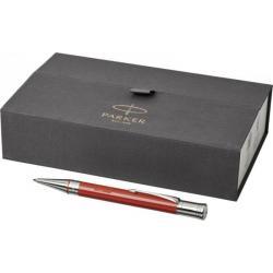 Bolígrafo Duofold plateado premium
