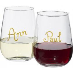 Set de vino con marcador Barola