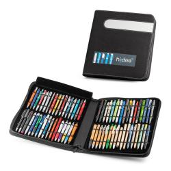 Carpeta muestrario con 102 bolígrafos Ball pen showcase