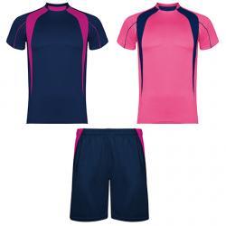 Conjunto deportivo unisex compuesto de 2 camisetas + 1 pantalón SALAS