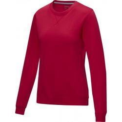 Jersey de cuello redondo de GRS reciclado orgánico GOTS para mujer Jasper