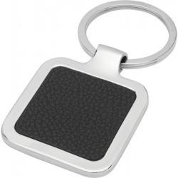 Llavero cuadrado de cuero sintético apto para láser Piero