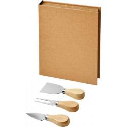 Set de queso de 3 piezas Reze